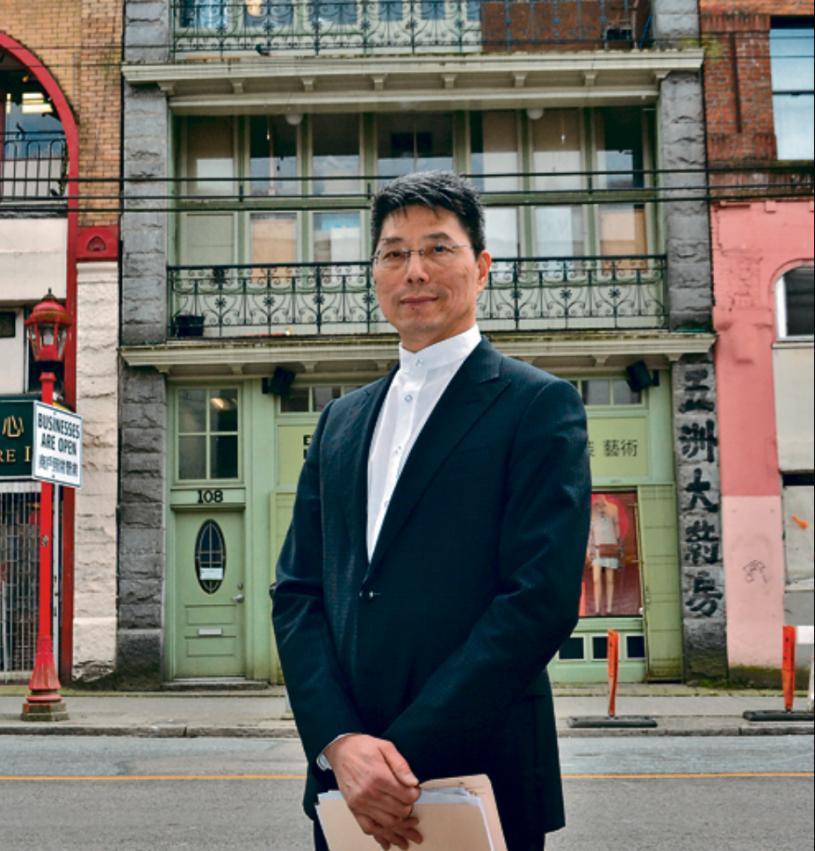 溫哥華中華會館理事姚崇英。網上圖片