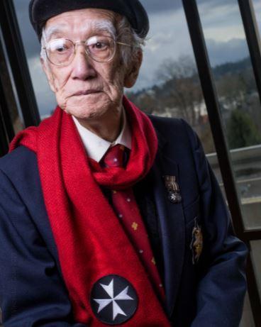 翟宝田享年99岁。受访者提供