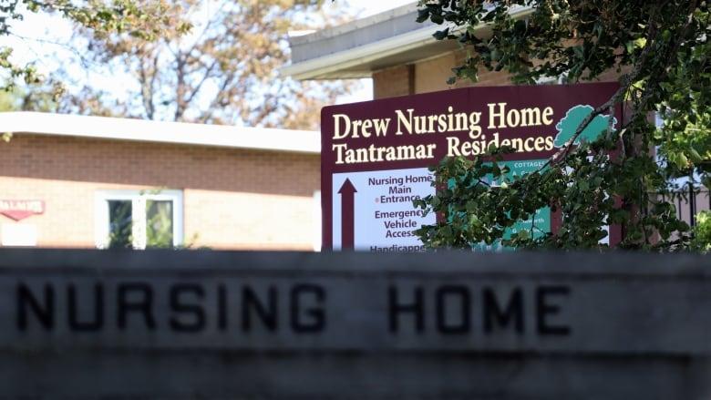 紐賓士域省的德魯護理院成為疫情重災區。CBC