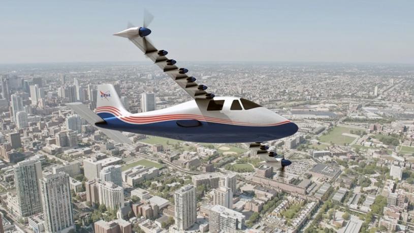 【科技生活】NASA硏發首架電動飛機時速172英里 你敢坐嗎?