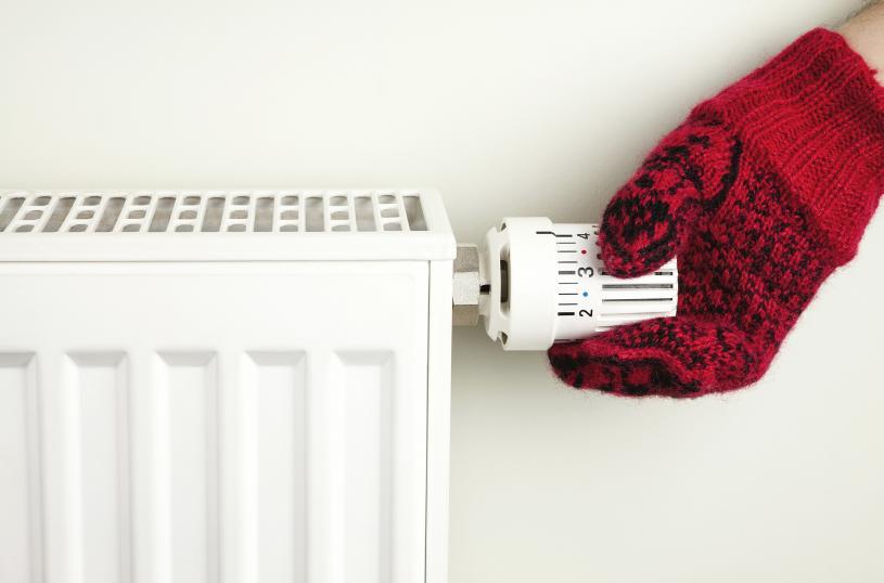 專家教路,只要將室溫下調1度,就能節省2%天然氣費用。Getty Images