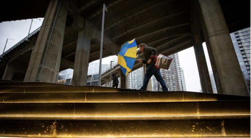 大溫地區民眾將迎來一個多風多雨的周末。    加通社