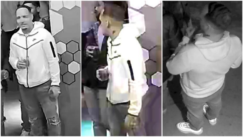警方發布市中心致命槍擊案疑犯照片。