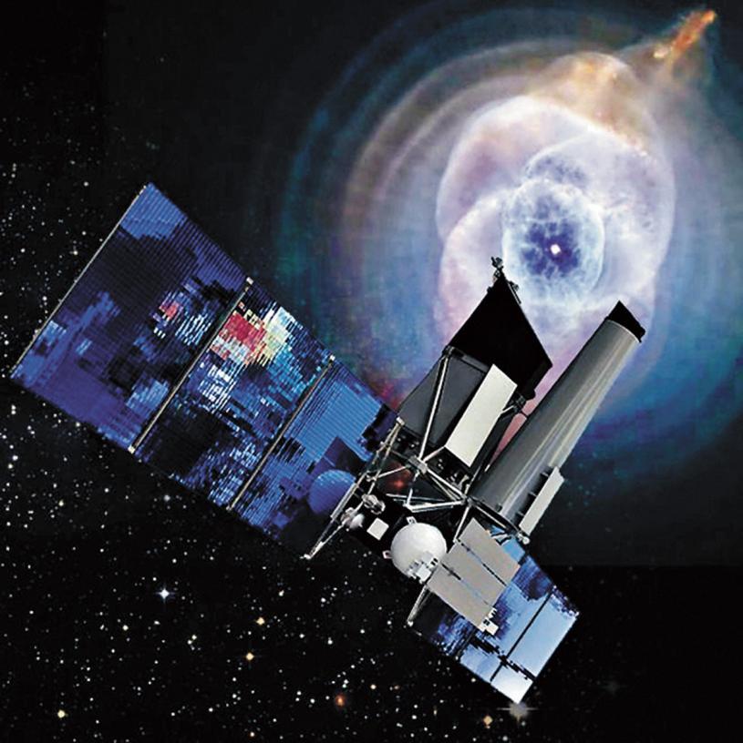 俄太空望遠鏡「光譜-RG」繪圖。網上圖片