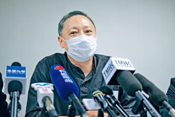 港大校委会将于本月28日开会,决定戴耀廷去留。
