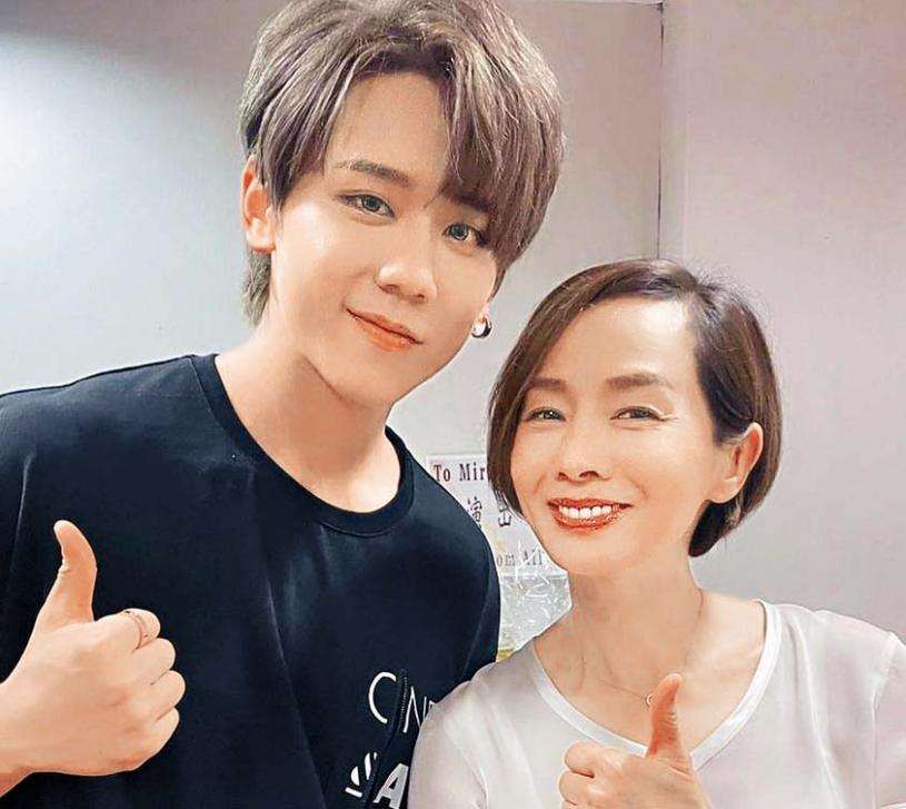 毛姐與姜濤將在 新戲中演母子。