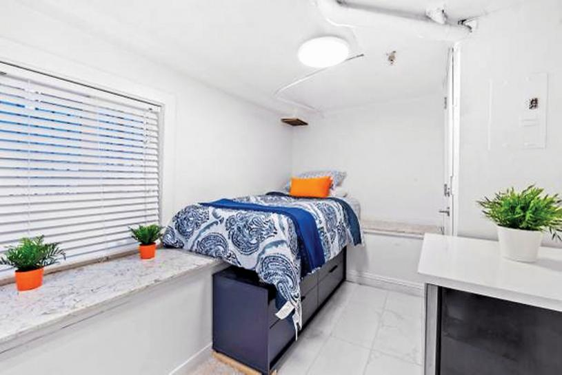 ■既是窗台又是床架,床底还有空间放置储物柜。网上图片