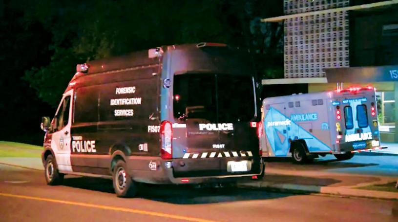 ■發生疑女弒母悲劇的北約克柏文。CBC