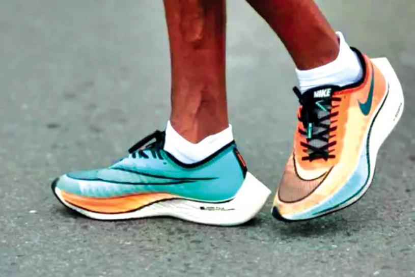 ■Vaporflys鞋款為奧運長跑者增添助力。路透社