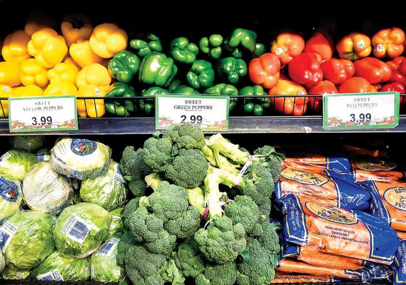 ■食品價格漲幅,今年料達5%。 加通社資料圖片