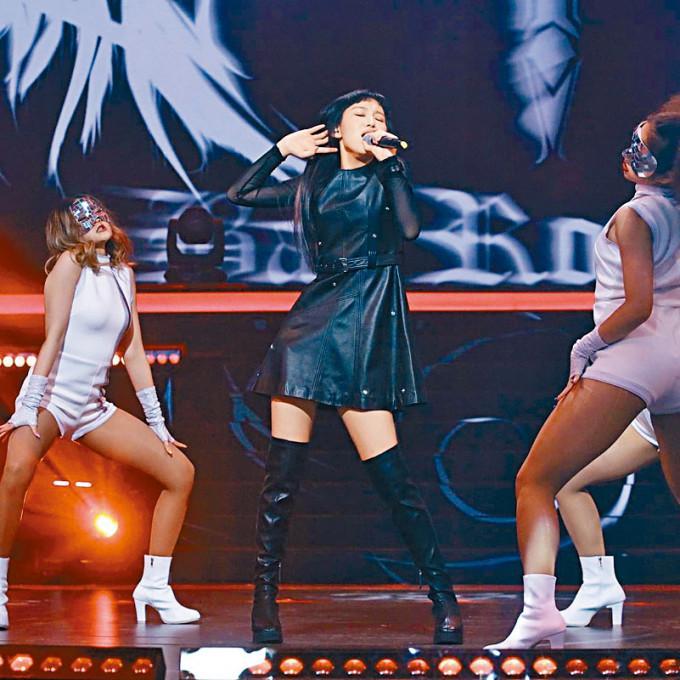 Gigi表示能與多位專業歌手合作,令她非常難忘。
