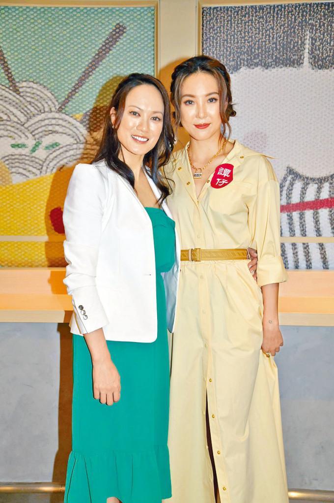简慕华(左)与Alina都希望《大叔的爱》开拍电影版。