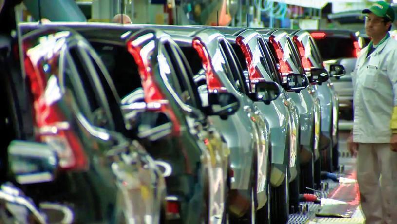 ■汽車業較早前遇到芯片缺貨的困擾。Global