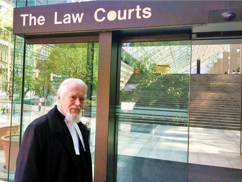 ■溫哥華律師博廷。網上圖片