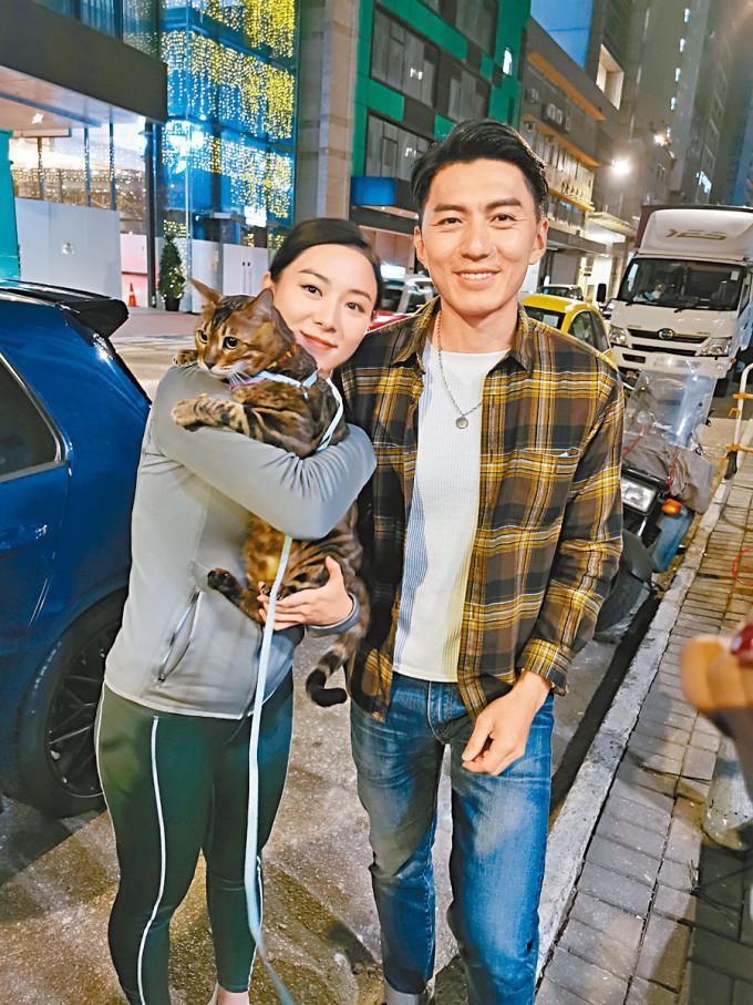 王敏奕與袁偉豪在新劇中合作。
