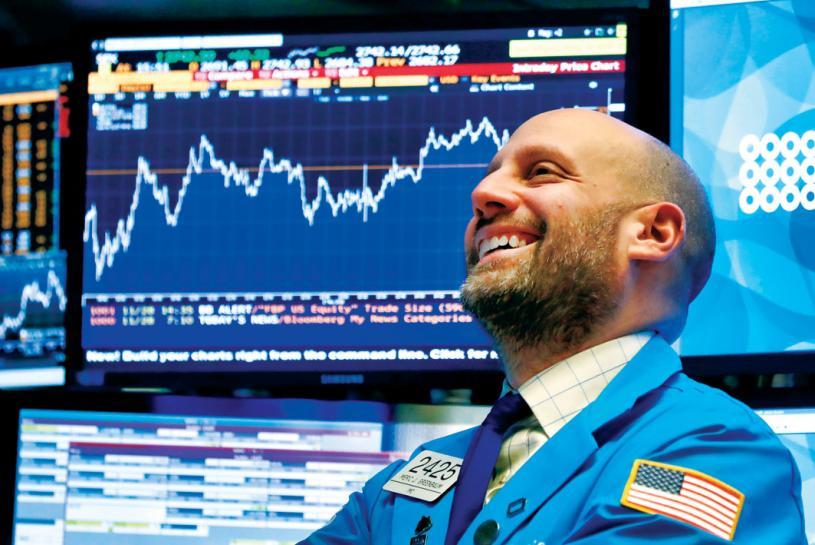 连12交易日上涨 多指不停创纪录