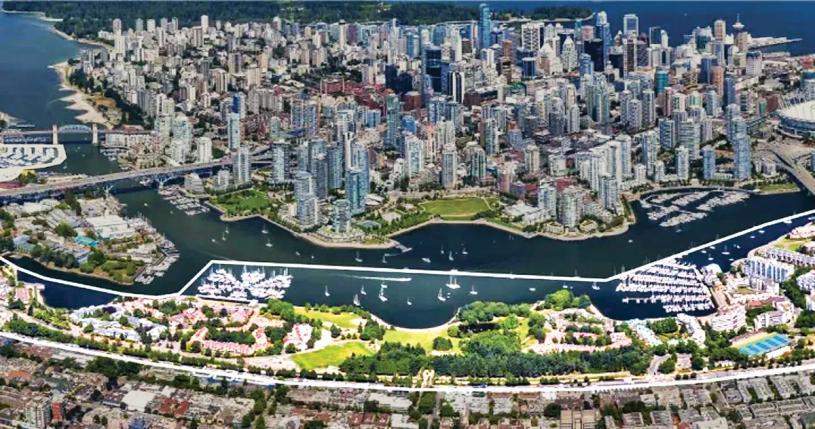 ■溫哥華市府職員的報告建議,把南福溪的住宅數量增至目前的3倍多。 Global