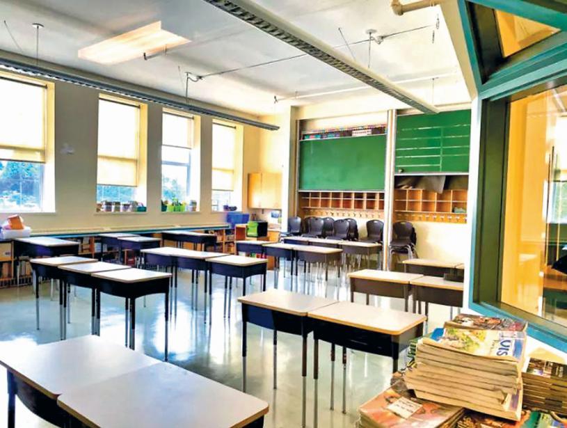 ■大温和菲沙河谷有学校暴露于新冠病毒之中。资料图片
