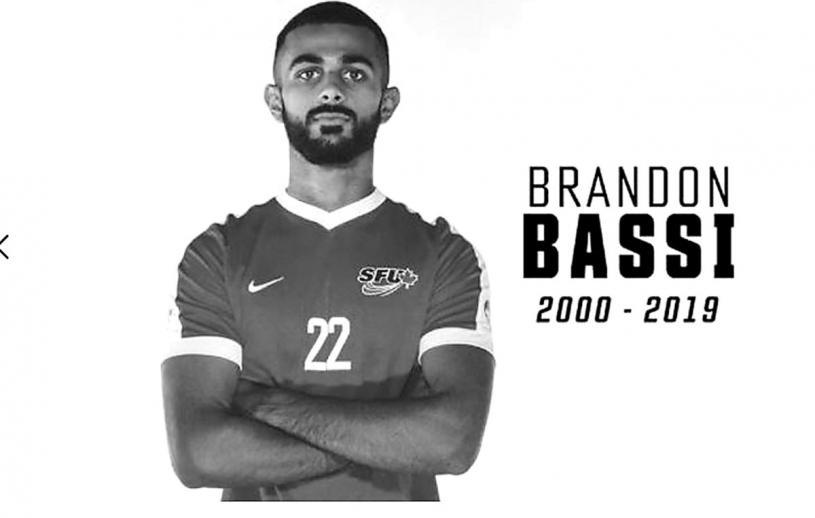■兩年前車禍死者巴斯,是一位很有天賦的足球運動員。 SFU