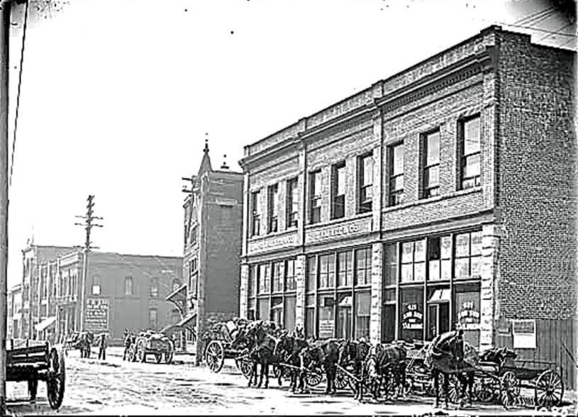 20世紀初位於華埠卡路街的三記號。
