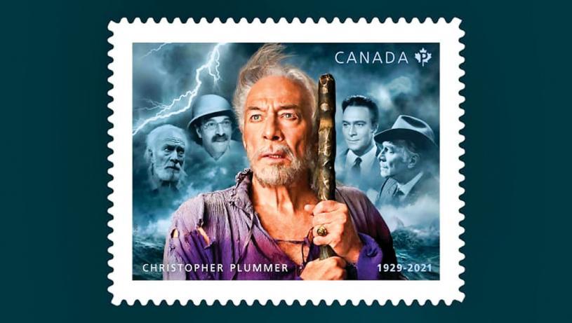 ■影星基斯杜化龐馬紀念郵票發行。加通社