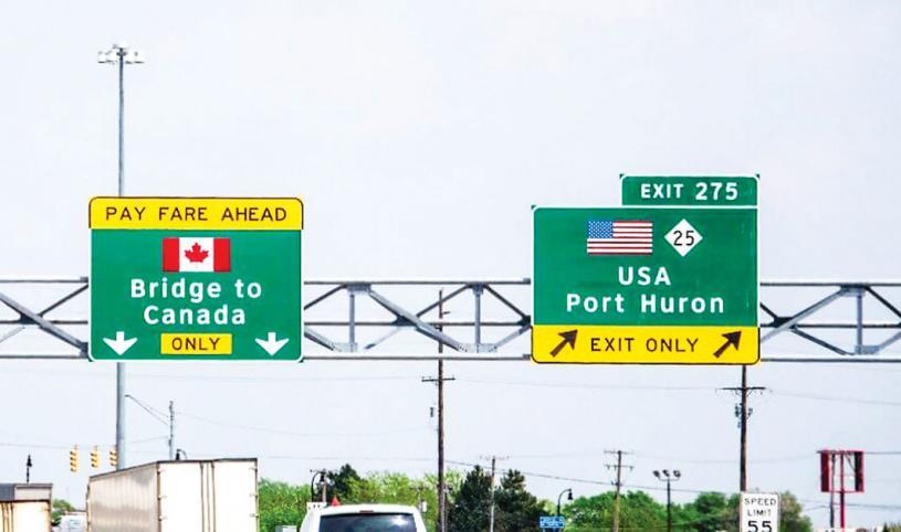 ■旅遊業者稱美加邊境開放是一件好事。資料圖片