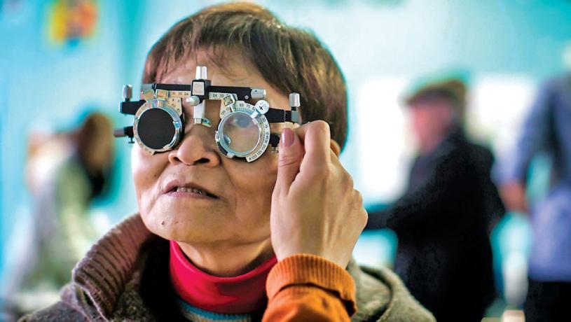 ■去年3月至6月期間受防疫封城措施影響,令全國幾乎所有眼科診所關閉。 CTV資料圖片