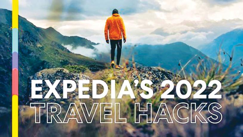 ■2022版旅行攻略告訴民眾,何時訂機票酒店最省錢。Expedia