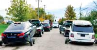 警捣破盗车集团逮9人 起回值500万88失车
