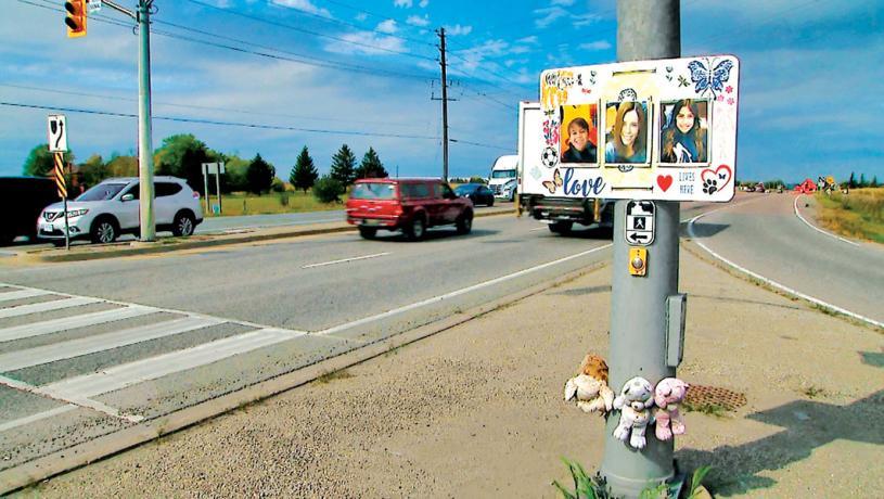 ■賓頓市三年前發生致命車禍現場。CTV
