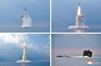 北韩潜射新型导弹