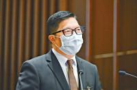 邓炳强:纪律部队八员涉嘲殉职女警被停职