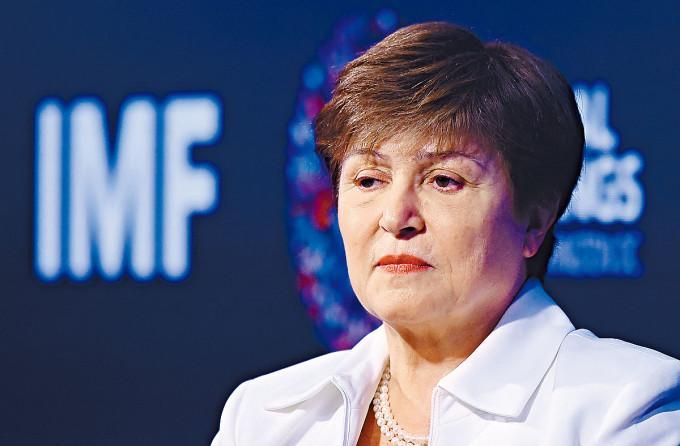 國際貨幣基金會(IMF)女總裁格奧爾基耶娃。