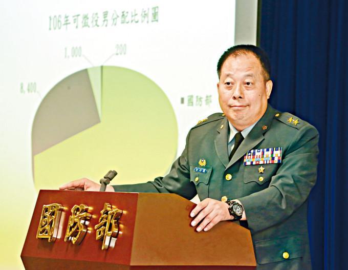 台陸軍司令徐衍璞上周六率團訪美。