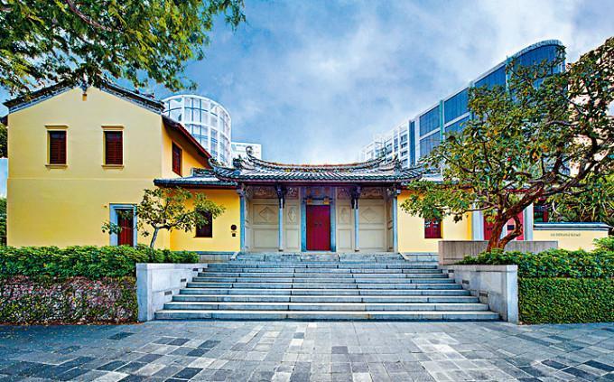 新加坡歷史建築物陳旭年宅第放售。