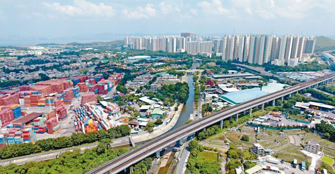 發展商加快在洪水橋新發展區建屋,初步涉及約一萬伙供應。