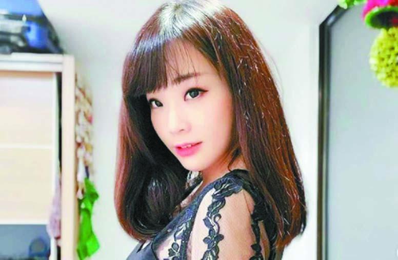 ■擁有傲人身材,林佑之被 封為「辣妹主播」。 網上圖片